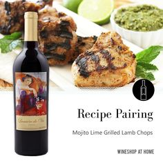 A twist on the traditional lamb dinner. Try this recipe paired with the Lumière De Vie 2014 California Cabernet Sauvignon.   Read the recipe here:   http://wsah.co/btNZp