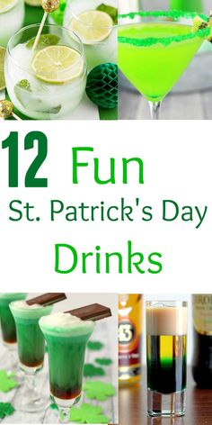 These St. Patrick's Day Drinks are delicious and fun to help you throw the perfect party.