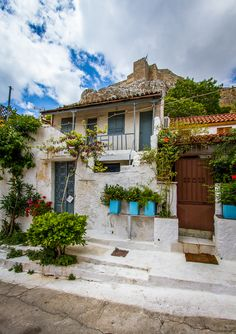 Skopelos Greece, Attica Greece, Athens Greece, Greece Apartments, Places In Greece, Building Elevation, Greek Culture, Beautiful Places To Travel, Amazing Places