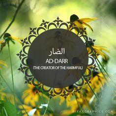 Ad-Darr,The Creator of The Harmful,Islam,Muslim,99 Names