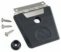 Igloo Hybrid Stainless and Plastic Latch (Black/Silver) *** Check out this great product.