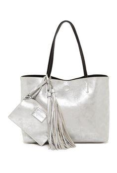 Geanta de umar argintie cu ciucuri si portofel Auld Lang Syne, W 6, Totes, Pouch, Tote Bag, Silver, Bags, Nordstrom Rack, Products