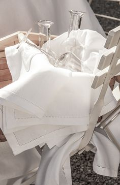 Serviette en lin Florence /  Napkin - Alexandre Turpault