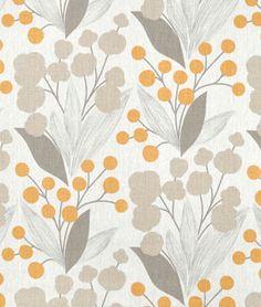 new dining room chair fabric? Portfolio Capparis Spice Fabric