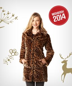 Make a statement at any holiday party this winter with luxurious faux-fur coat Canada Shopping, Great Women, Online Furniture, How Beautiful, Faux Fur, Best Gifts, Fur Coat, High Neck Dress, Hugs