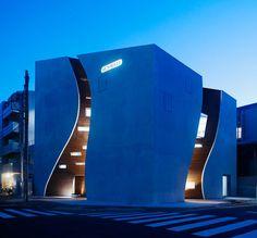 Sunwell / designed by architects Tsutomu Hasegawa of Be-Fun Design and Takato Tamagami. via Dezeen. #architecture
