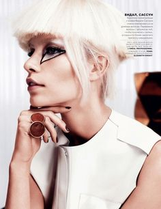 "Aline Weber in ""A Little Faith"" by Catherine Servel for Vogue Russia, February 2013"