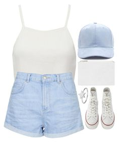 """play"" by emilypondng ❤ liked on Polyvore featuring Pull&Bear, Topshop, Converse, Whistles and ChloBo"