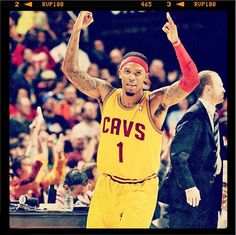 Check out our Photo of the Game from December 8, 2012. Guard Daniel Gibson hits a late three-pointer against the Detroit Pistons at Quicken Loans Arena in Cleveland, Ohio. Photo courtesy of David Liam Kyle / NBAE via Getty Images. Check out more photos from the game: http://www.nba.com/cavaliers/photogallery/detcle-121208
