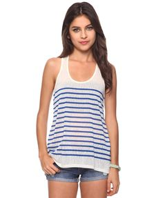 Striped Swing Tank from Forever21