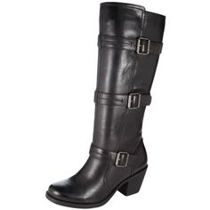 Rock out in this buckled boot!