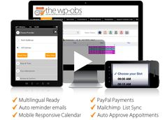 The WP-OBS  advanced appointments booking system http://www.wp-online-booking-system.com/