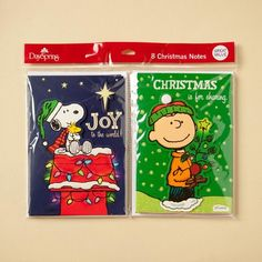 Peanuts - Christmas Double Note Pack - 8 Premium Cards. Spread Christmas joy with these colorful, highly decorative and fun Peanuts note cards!. Price: $2.99