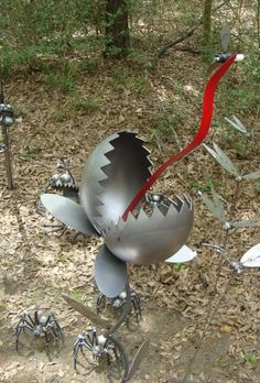 welded garden art | The Great God Pan Is Dead: The Bayou City Art Festival