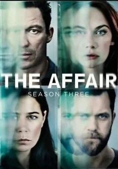 The Affair Season 3 Three Third  (DVD)  PRE ORDER Release date 4/25/2017