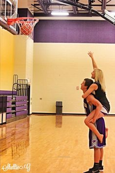 Quitting cheer to become a basketball player #not #couplespictures #boyfriend…
