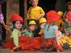 I am playing the theatre already from the nursery school
