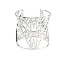 "Manchette ""Lunéa"" - Vélizance - Argent  #Bijoux #Jewels #Silver #Gold #Design #Tendance #Bijou #FashionJewelry #Velizance"