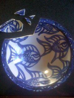 Broken plate - Araldite to the rescue!