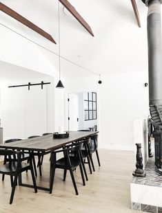 Chek out the Wren & Whippet website for Photographs of the amazing interiors/ Perfect Stay for Groups/ Fireplace/ Large Kitchen and Dinning/ Designer Interiors Luxury Accommodation, Blue Mountain, Whippet, Building A House, New Homes, Dining Table, Flooring, Interior Design, Kitchen