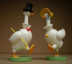 Wendt & Kühn Gänsepaar (Pair of Geese) 5253/3-4 in Antiquitäten & Kunst, Volkskunst, Erzgebirge | eBay!
