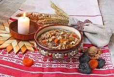 12 traditional meals for Sviat Vechir (Ukrainian Christmas Eve) New Year's Food, Good Food, Beet Kvass, Russian Pastries, Ukrainian Christmas, Famous Drinks, Sour Cream Sauce, Christmas Eve Dinner, Ukrainian Recipes