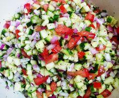 Salad Shirazi (Persian Cucumber Salad)