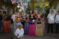"""Con verbena, regiduría de Turismo de Tehuantepec  lleva a cabo concurso de """"La Rama Tradicional"""""""