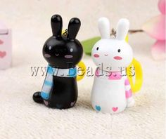Polymer Clay Pen, Rabbit shape  http://www.beads.us/product/Polymer-Clay-Jewelry-Pen_p44126.html