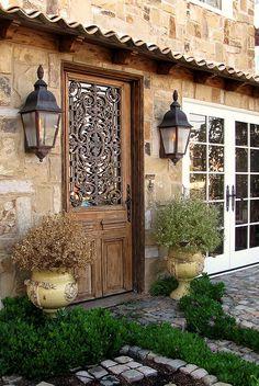 Qué maravillosa puerta!!!!