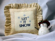 Let It Snow! Free Cross Stitch Pattern