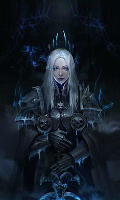 World of Warcraft Art Fantasy Art Women, Dark Fantasy Art, Fantasy Girl, Fantasy Artwork, Final Fantasy, World Of Warcraft Characters, Dnd Characters, Fantasy Characters, Fantasy Character Design