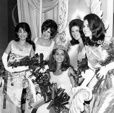 Sylvia Hitchcock won the title of Miss USA 1967, and then went on to be crowned Miss Universe 1967.