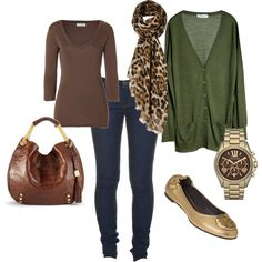 i'm a sucker for leopard print, green, and gold. oh and skinny jeans.