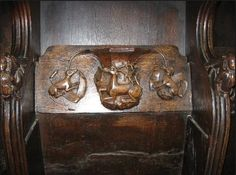 Misericord from St. Laurence Church, Ludlow, Shropshire, England