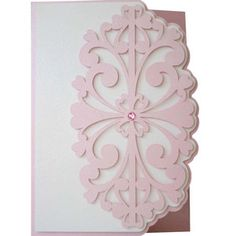 Silhouette Design Store - View Design #116178: 5x7 curly hearts layer card