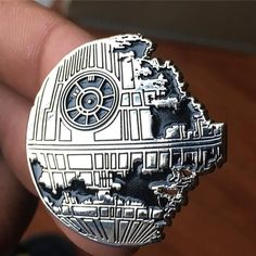 #Repost @pinsnstuff They have arrived !!! Death Star!!! Pre orders are going…
