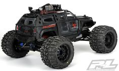 Pro-Line's new Apocalypse shell is the perfect topper for your Traxxas Summit, with styling suitable for urban pacification, zombie control, or any type of post-nuclear-meltown mutant situation you…