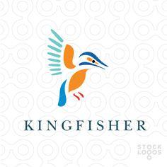 K -  Kingfisher bird
