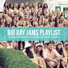 College Hill is talking BID-DAY! Check out our new blog and mix up your next Bid Day with great products your sisters will love! #Bidday #sorority #Sisters #Custom #design #Blog #College