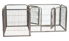 The Paws Mahal - Heavy Duty Double Divided Tube-Style Pet Playpen Training Crate Kennel, $187.49 (http://www.thepawsmahal.com/heavy-duty-double-divided-tube-style-pet-playpen-training-crate-kennel/)