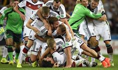 Mario Gotze gets world cup for Germany