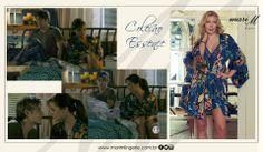Pijama Essence Marine na novela Em Família!!!