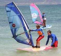 Kids Windsurfing Camps on Maui