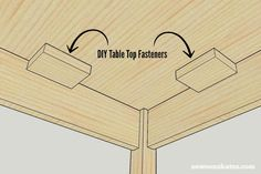 Seasonal changes can cause wood to crack. I'm sharing important building tips about how to prevent your DIY wood furniture from cracking.