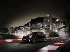 7 Seas Productions : night shots with a racing vibe - MINI Paceman JCW shoot in Monte Carlo, the 'Le Grand Bordel' book project on Picasso's trail and fashion productions Mini Paceman, Mini Clubman, Mini Usa, John Cooper Works, Road Runner, Book Projects, Go Kart, Fuel Economy, Monte Carlo