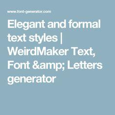 letra weirdmaker