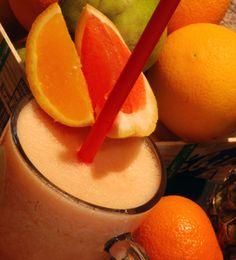 na hubnuti grep ananas Smoothies, Food And Drink, Orange, Fruit, Drinks, Cooking, Cinnamon, Smoothie, Drinking