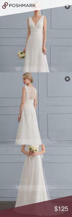 Wedding Dress Chiffon Size 24 NWT | Dresses dresses