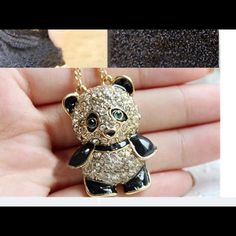 Adorable Panda Necklace.  NWOT!FINAL SALE Very cute. About an inch long Jewelry Necklaces